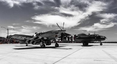Mustang and B-51 BW